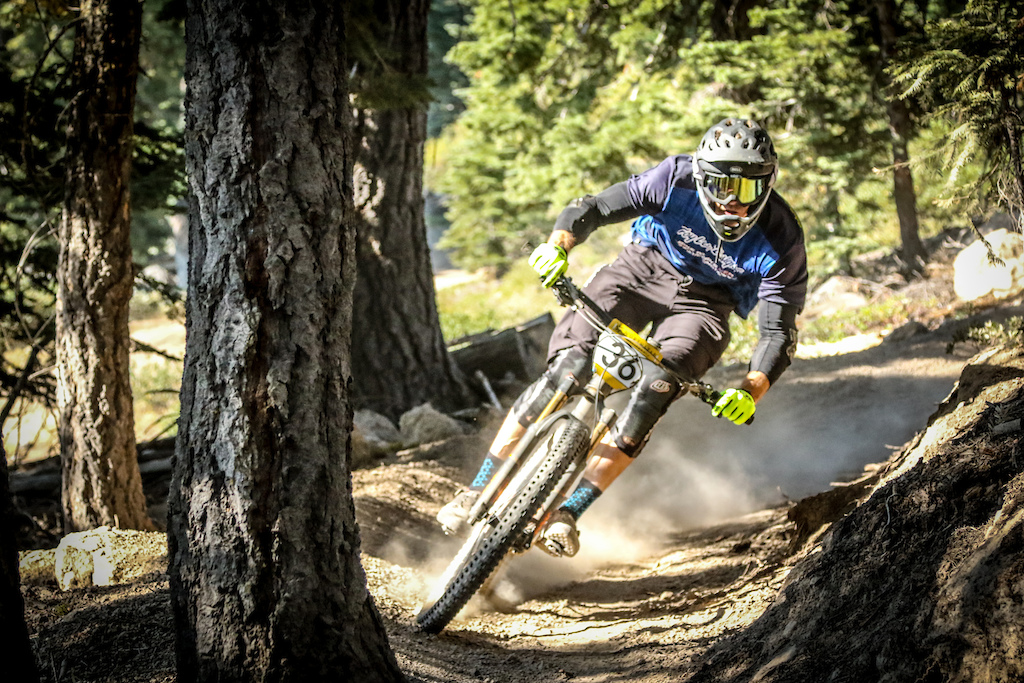 Local Rider Tim Krentz proves that with age comes wisdom. He sits in 2nd place after day one just twelve seconds behind Curtis Keene.