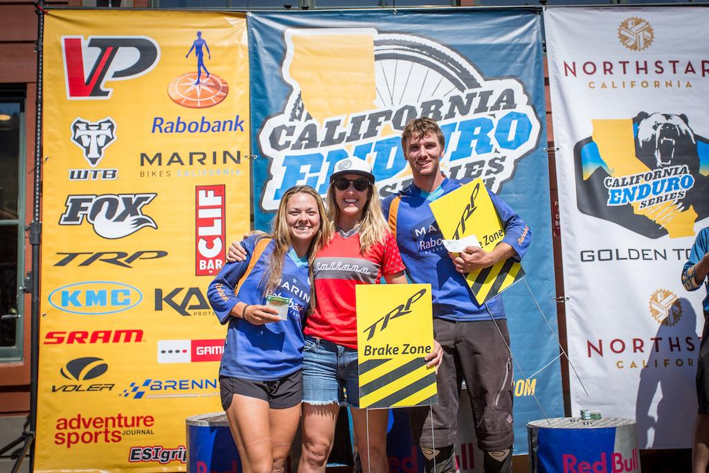 TRP Brake Zone Winners Kathy Pruitt - Pro Women Evan Geankoplis - Pro Men