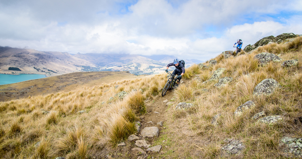 Local knowledge singletrack near Christchurch New Zealand