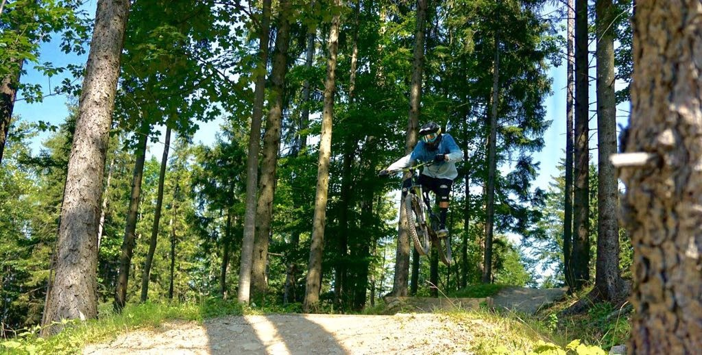 Airline at Bikepark Semmering.