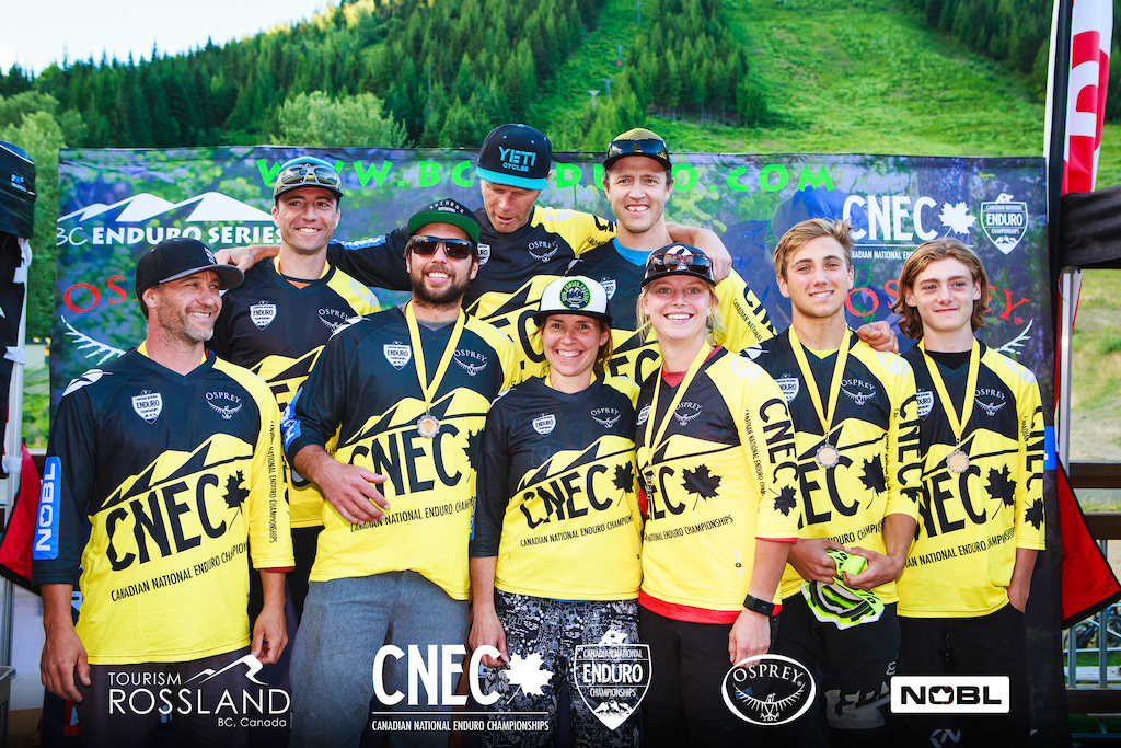 Canada's fastest Enduro racers in our jerseys!
