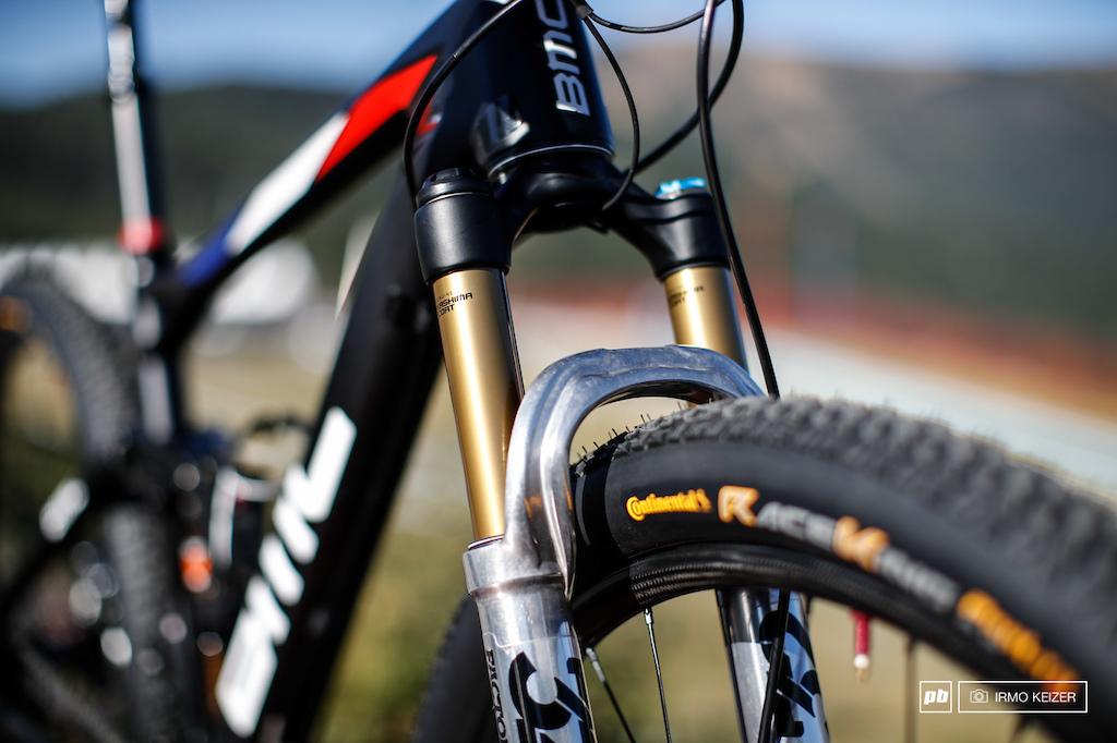 Julien Absalon s BMC Fourstroke - Vallnord XC World Cup 2016