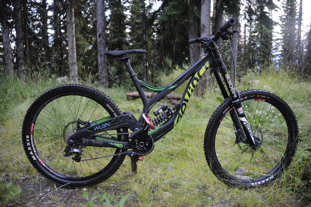 2016 Devinci Wilson RC+ medium