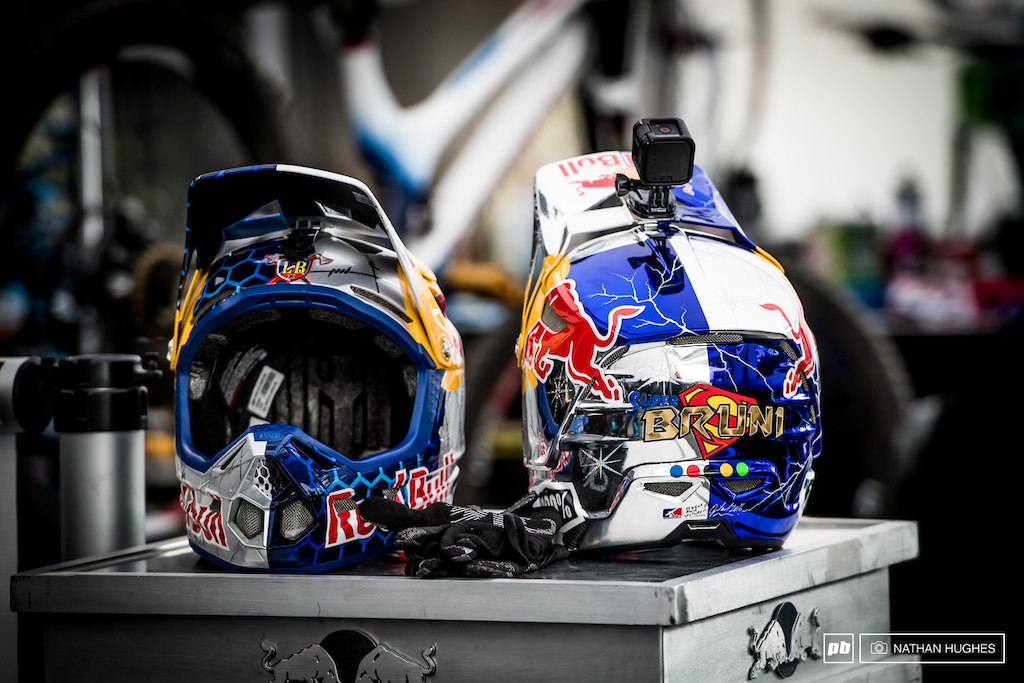 Pick a lid, any lid... Bruni's great protection dilemma.