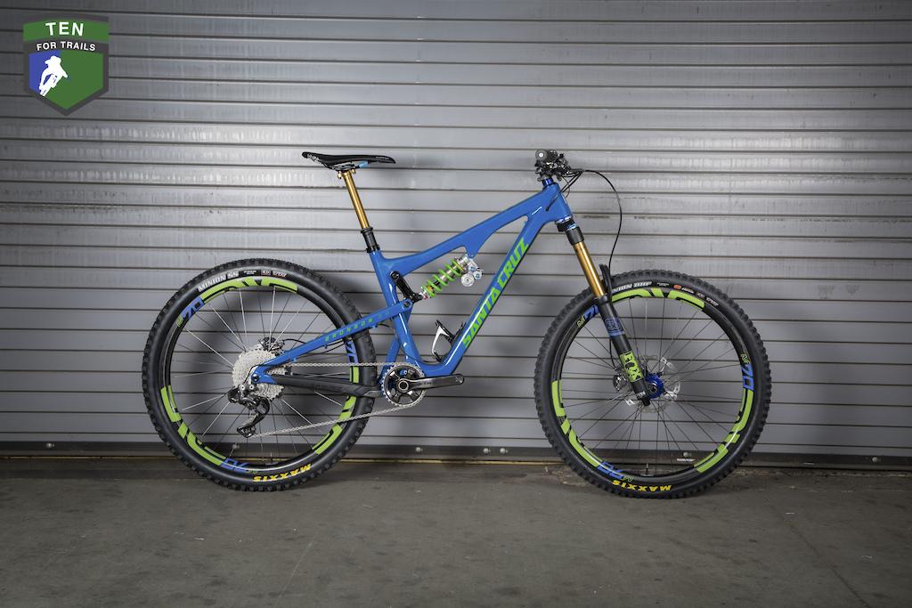 Ten For Trails Win A Custom Santa Cruz - Shimano XTR Equipped Dream Bike