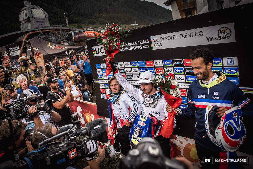 The fastest men in Val di Sole.