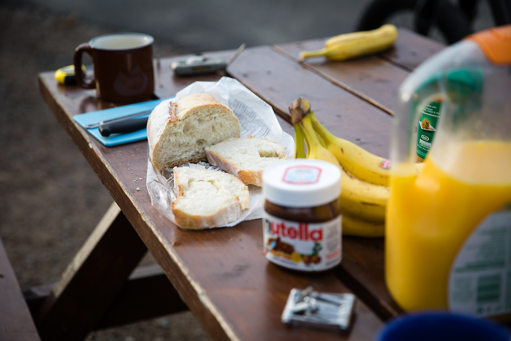 Breakfast of champions. PHOTO: Ben Gavelda