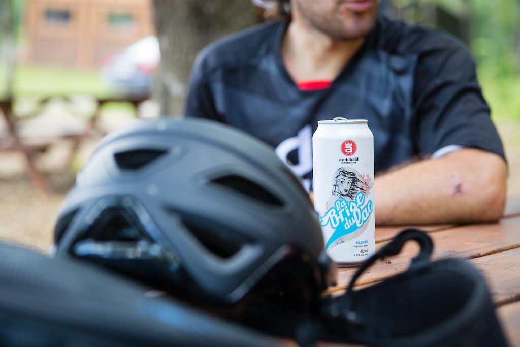 Post ride refreshment. PHOTO: Ben Gavelda