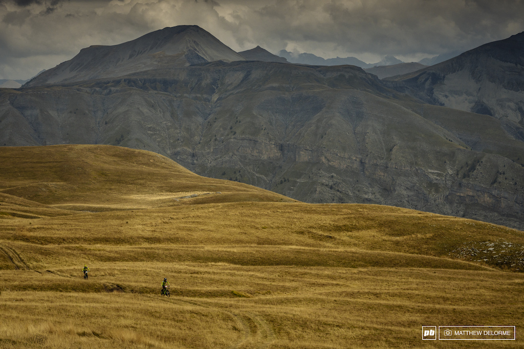 The Parc du Mercantour isn't short on views, and the trails are top notch.
