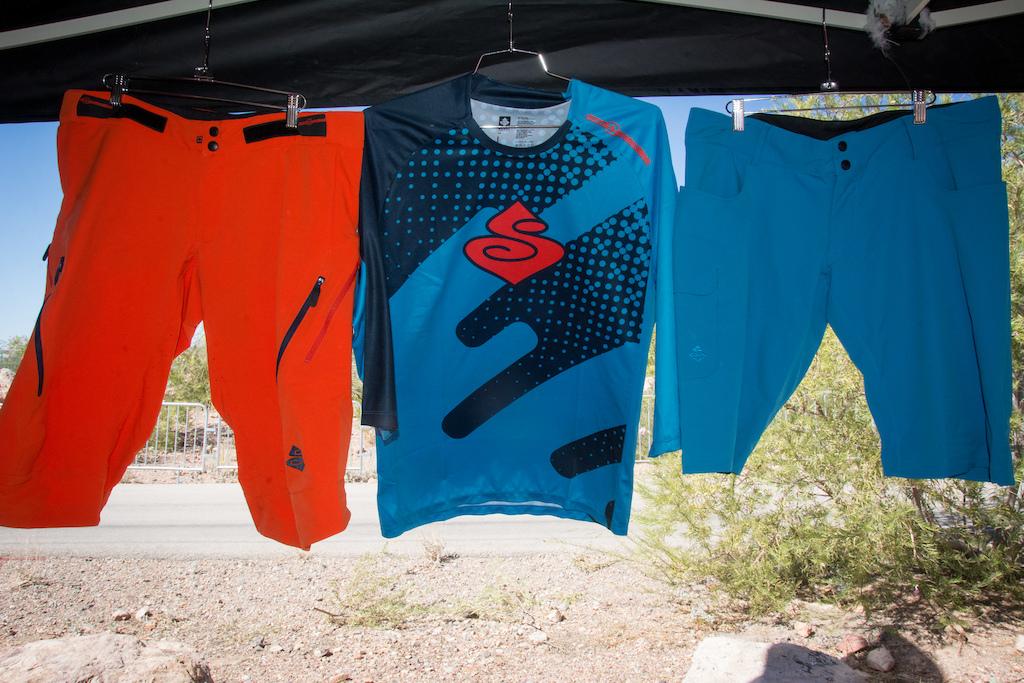 The Hunter Enduro shorts the Chikamin Jersey and the El Enduro shorts.