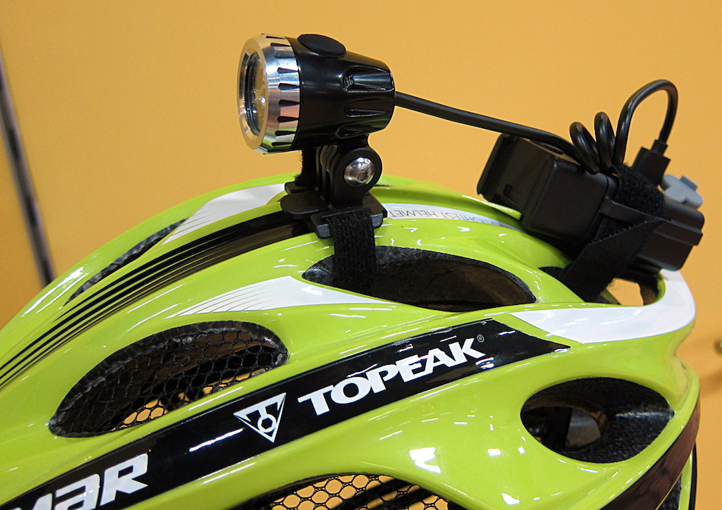 Topeak helmet light