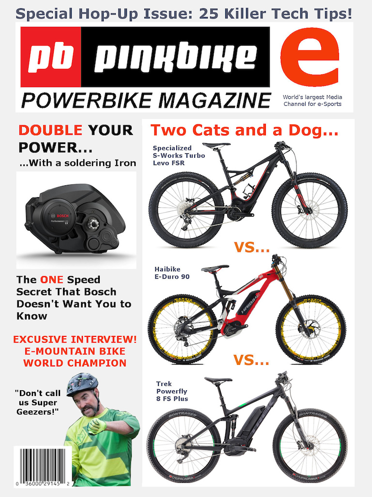 PB E-bike magazine first issue