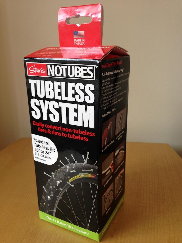 2016 Stan's NoTubes Standard Tubeless Kit