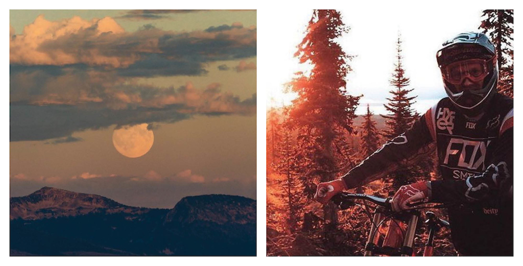 Images for The Big White Bike Park blog.