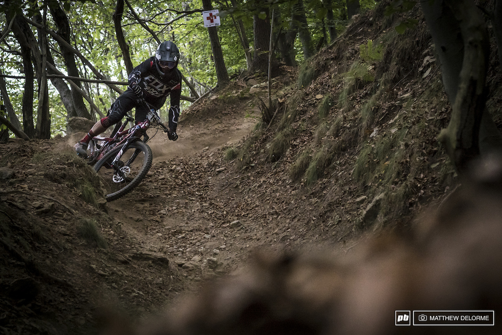 Mark Scott had his best EWS result to date with a fifth place finish this weekend.