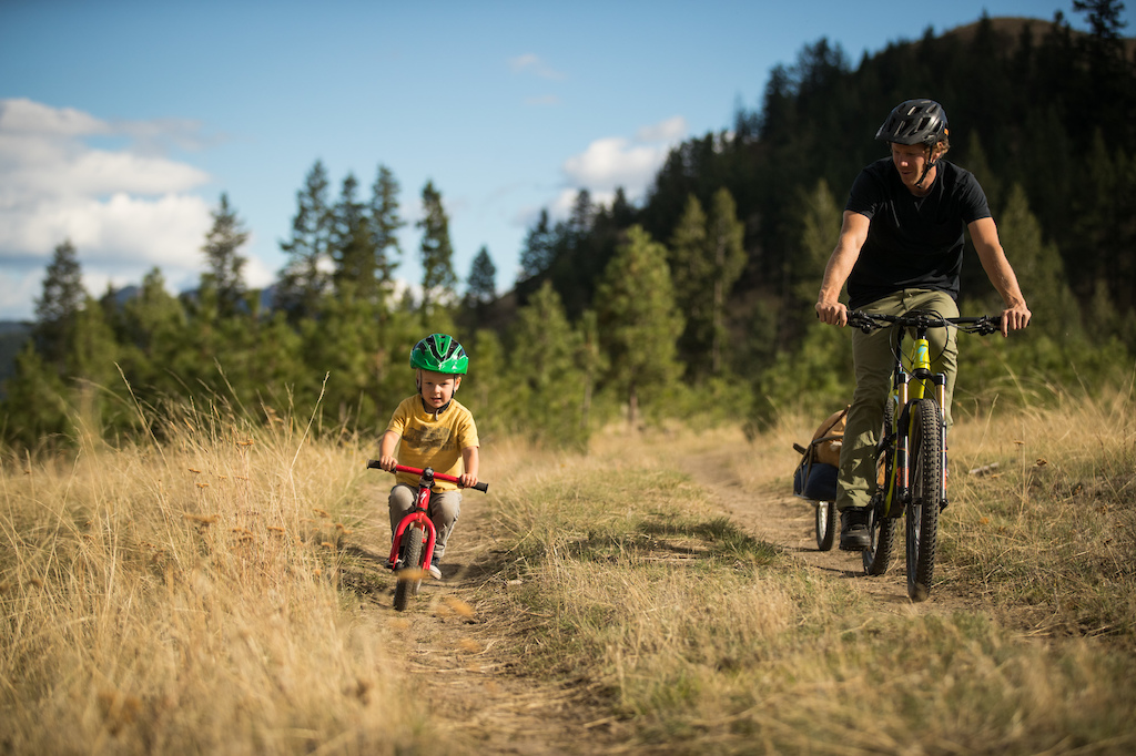 Matt and Robbie Hunter in Kamloops, British Columbia, September 2016