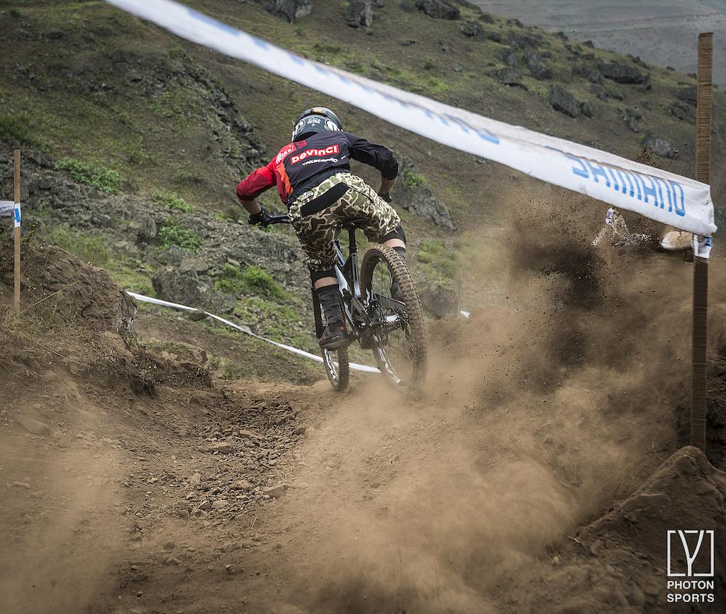 Copa Downhill 3rd ace in Pachacamac - Peru