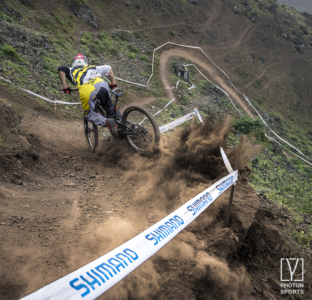 Alejandro Paz saving it qualifying first Copa Downhill 3rd ace in Pachacamac - Peru