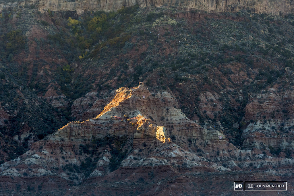 From afar, it seems so tiny. A small peak dwarfed by the imensity of Gooseberry Mesa. But up close, this crag is anything but tiny.