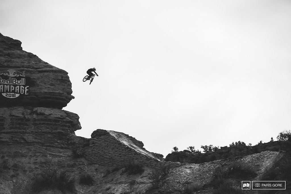 Carson Storch giving the great wall some style.