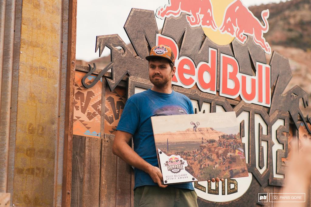 Red Bull Rampage Spirit Award
