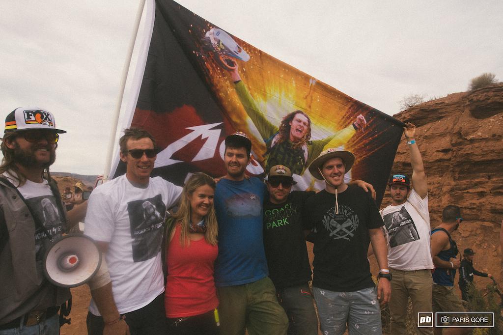 MCgazza flag and crew