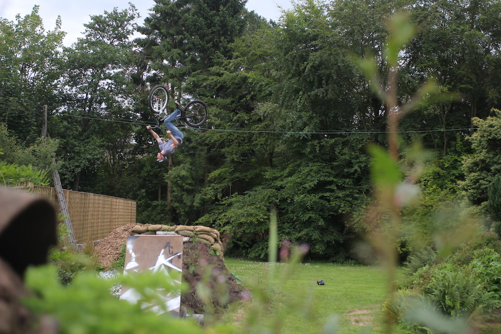 Underflip in the yard. - Matt Aldridge