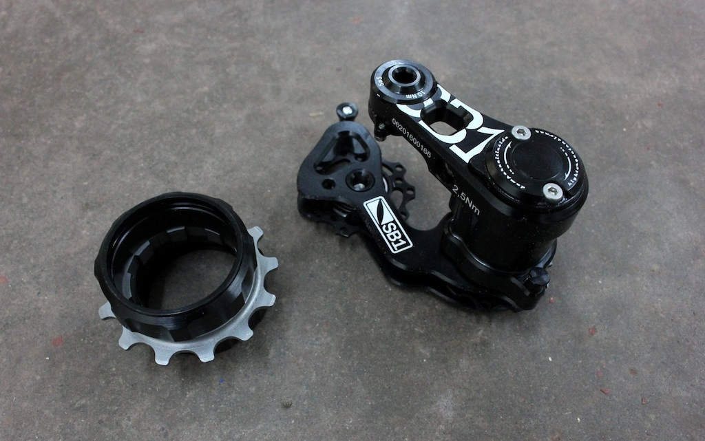 Check Out November - SB1 DH Chain Tensioner