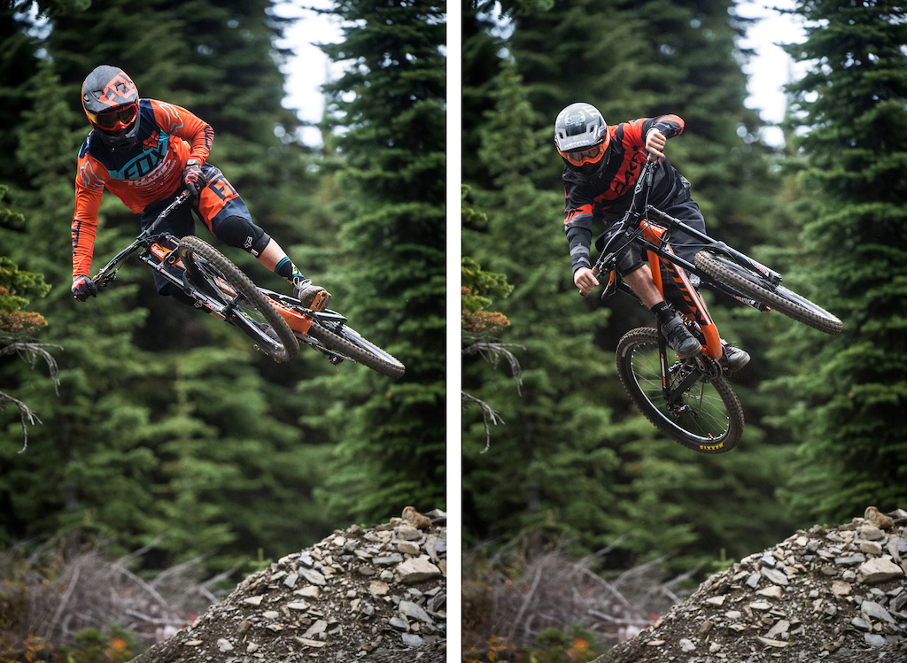 Speed and Style: a Retallack hip, two ways. Yum.