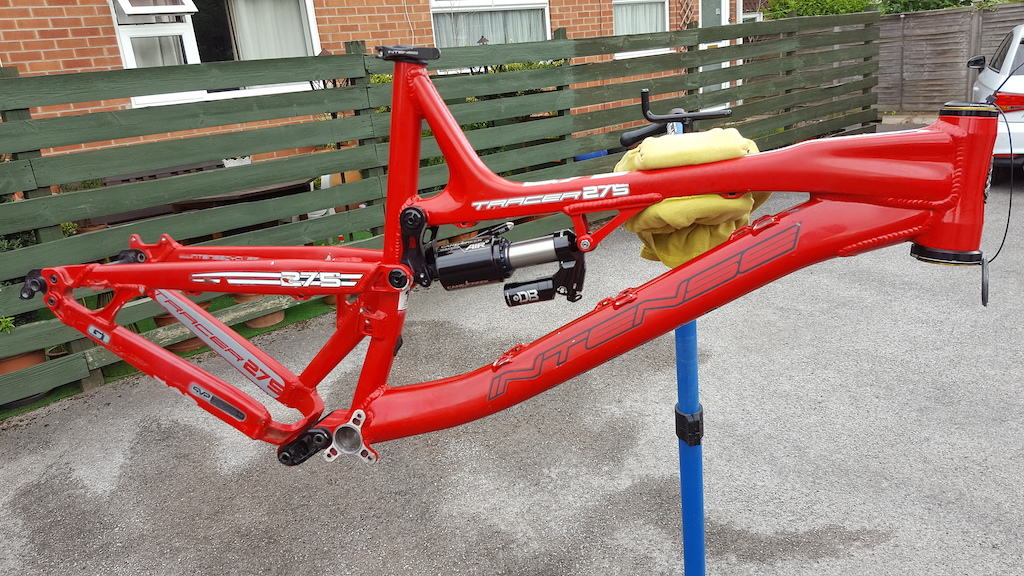 2013 Intense Tracer 275 Frame incl CCDBAirCS and Angleset