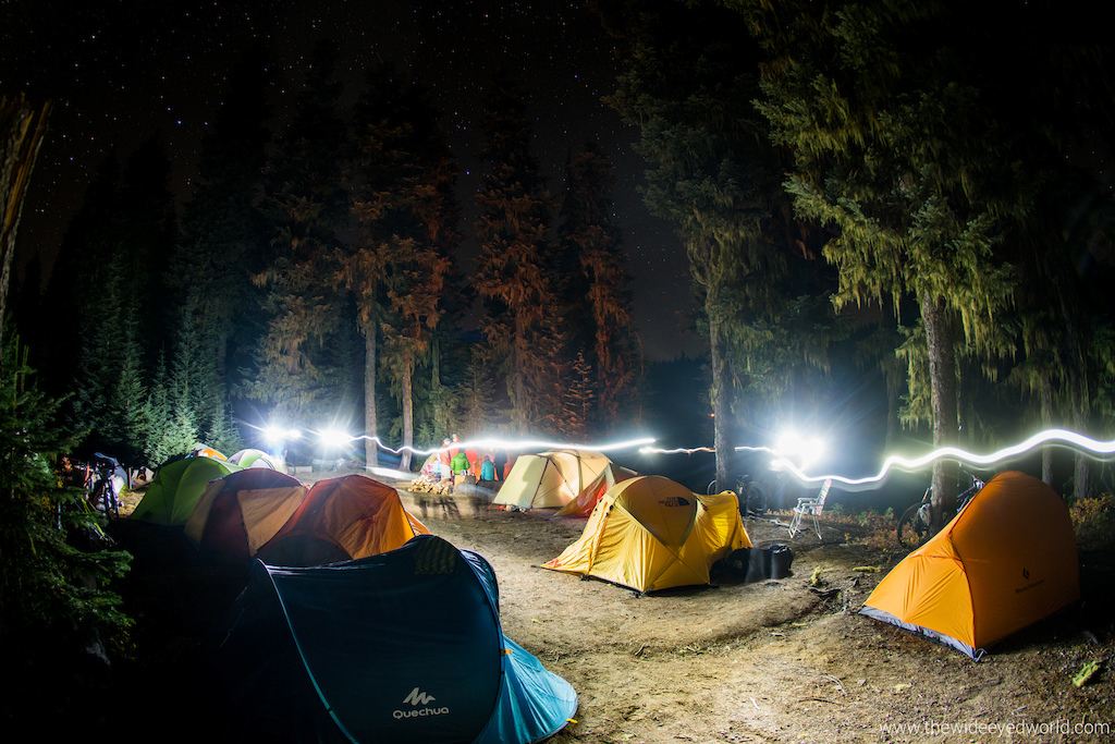 On the eve of the the 2nd running of Trans-Cascadia the camp was buzzing with anticipation and preparation under the clear skies at Lake Timpanogas.