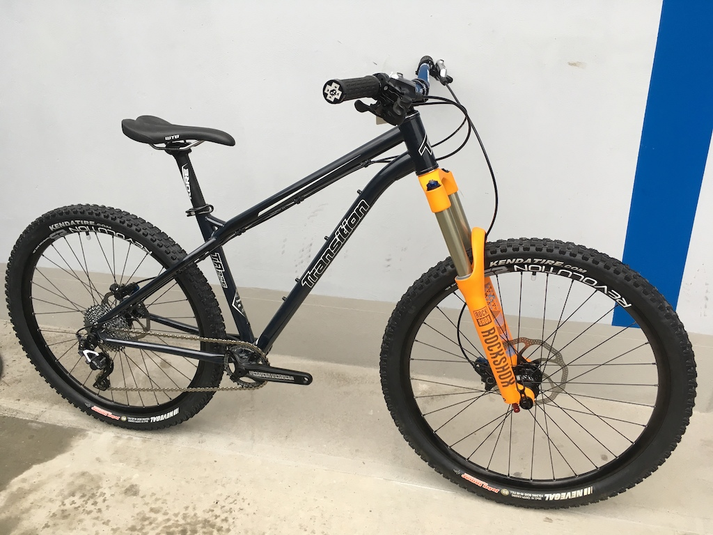 """Transition TransAM built with 26"""" and Argyle RCT 140mm. DJ, XC, whatever you want. Ultimate do-all hardtail."""