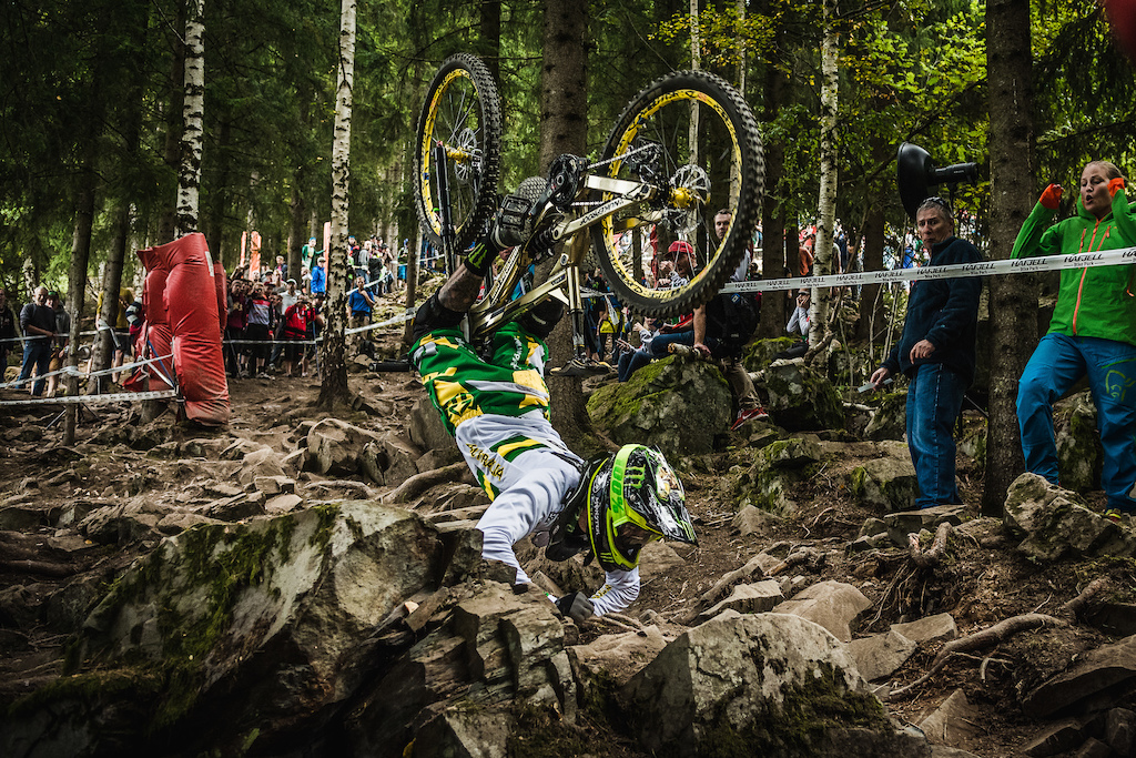This was one of the gnarliest crashes I have witnessed in recent memory.