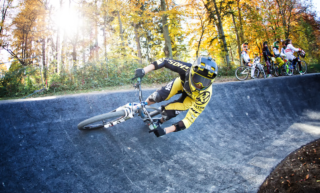 Velosolutions Asphalt Pumptrack in Neukirchen,  Austria. It was built in October 2016 and is the first ever Velosolutions Pumptrack in Austria.