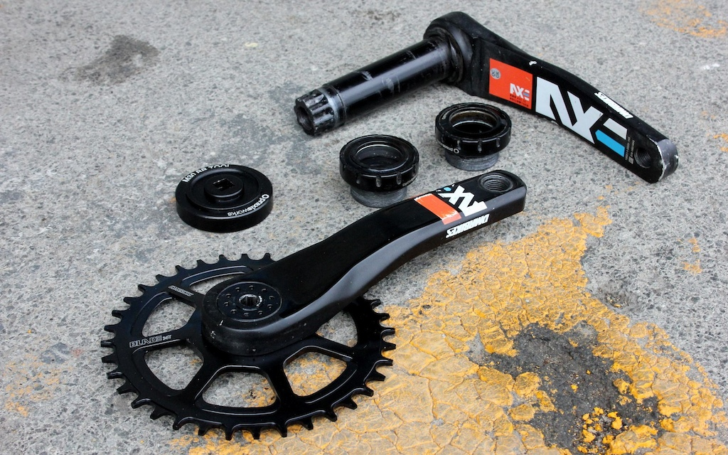DMR Axe Cranks - Review