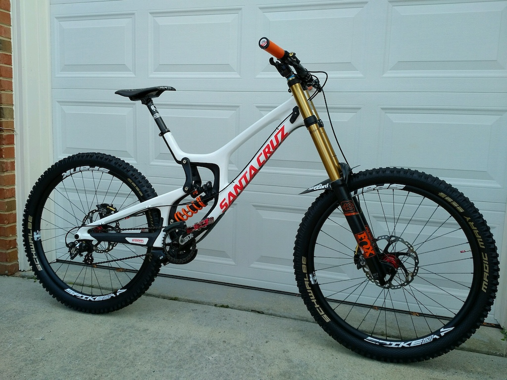 2015 Santa Cruz V10cc XL full custom build