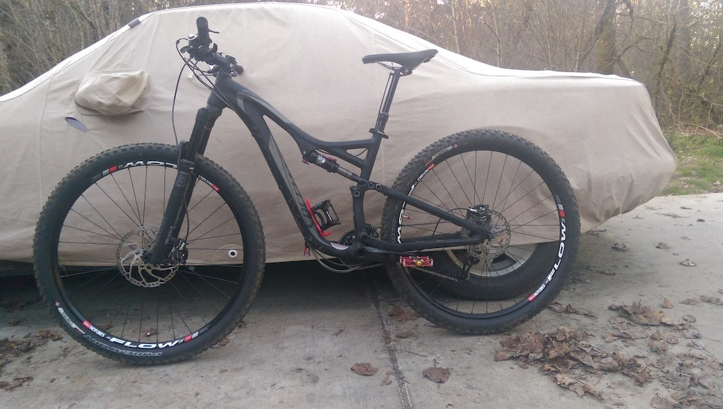 2014 Stumpy FSR,M,XT brakes+cass.,dropper, Flows/DT350