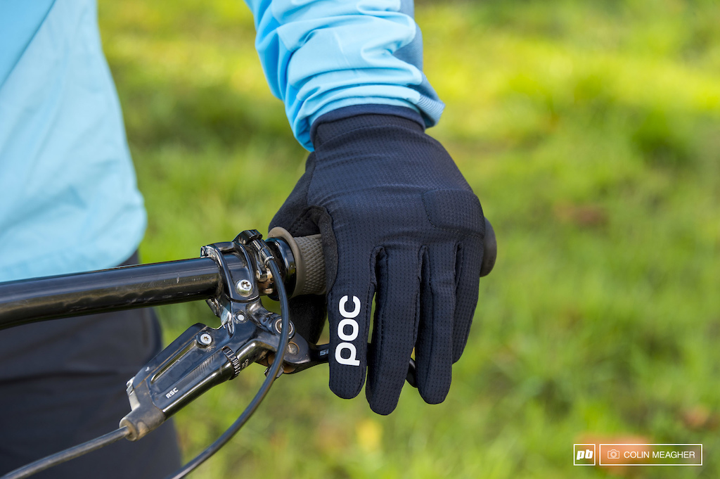 Detail on POC s Index Flow Glove.