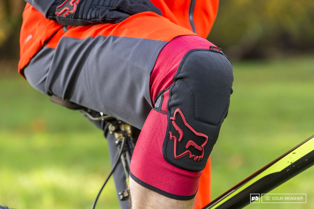Fox Head Downpour Short and the Launch Enduro Knee Pads .