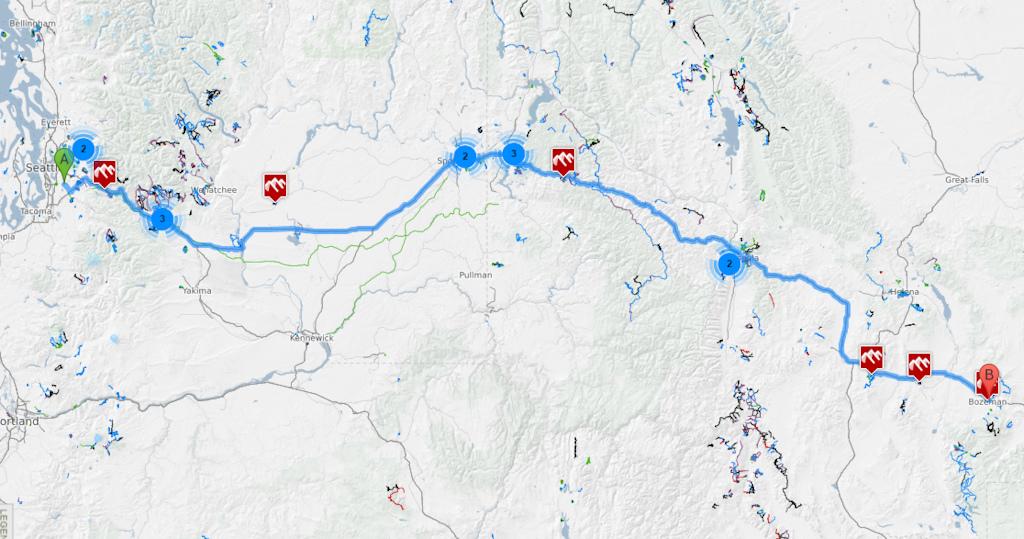Road Trip Planner >> Trailforks Tutorial Road Trip Planner Pinkbike