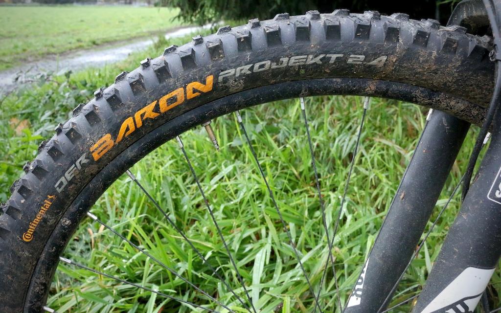 Continental Der Baron 2.4 Projekt Tire