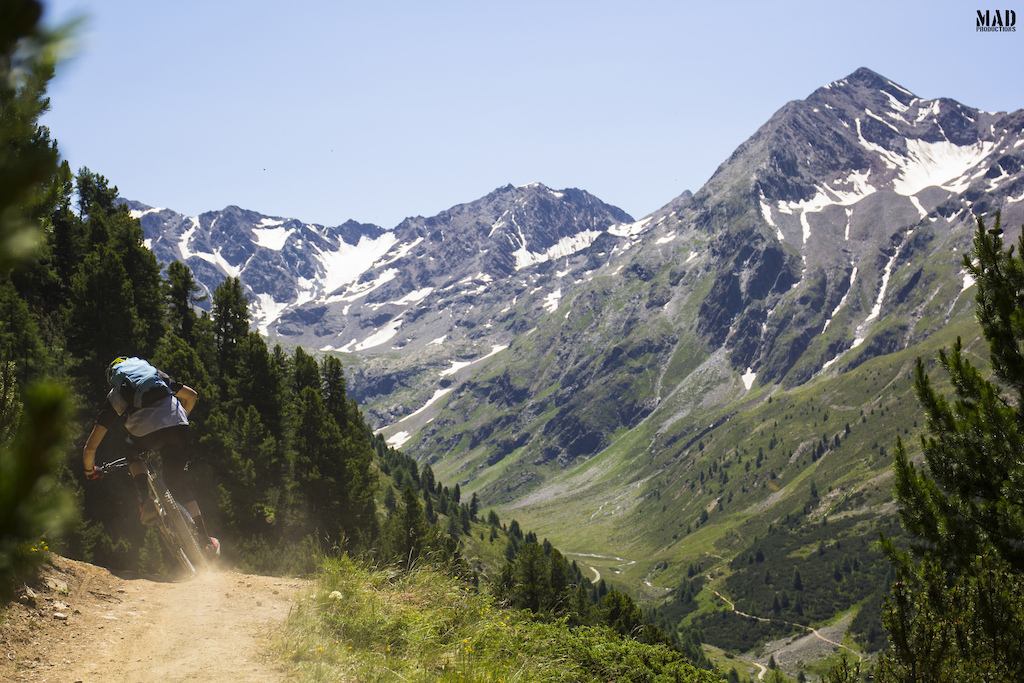 This is where the bike takes you: away from crowds, away from reality, away from troubles, away from everything you really don't need. MADproductions adventure trip to Livigno.