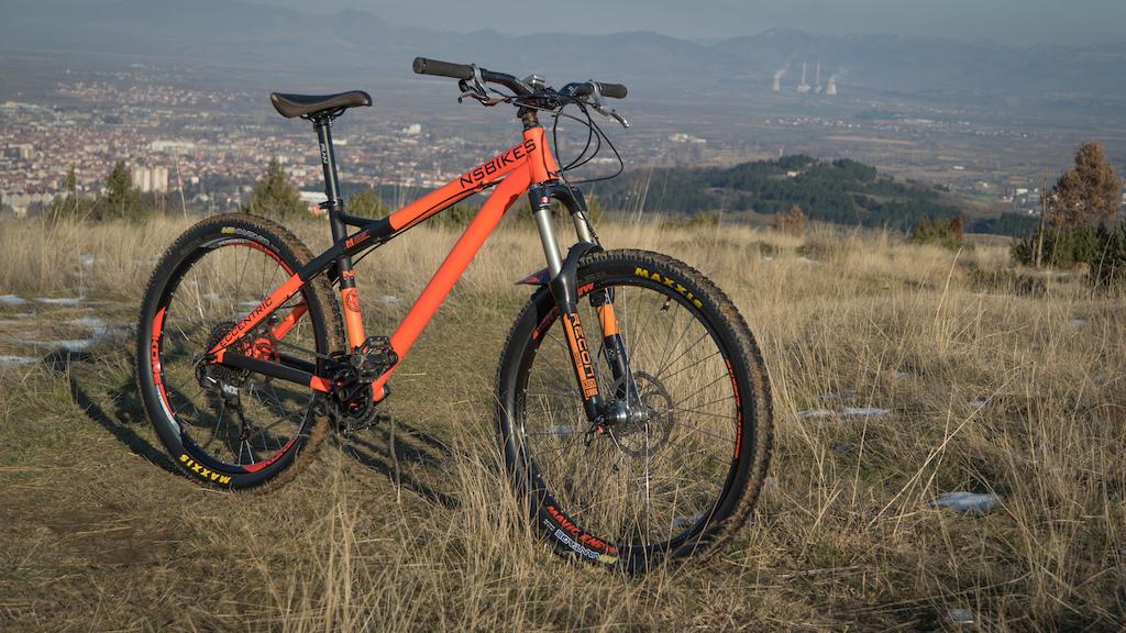 NS Bikes Eccentric Alu 2016 orange custom