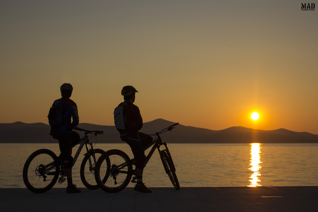 Adventure should always end with a warm sunset and Croatia Full of life delivers it ! Thank you Adventure Driven Vacations !