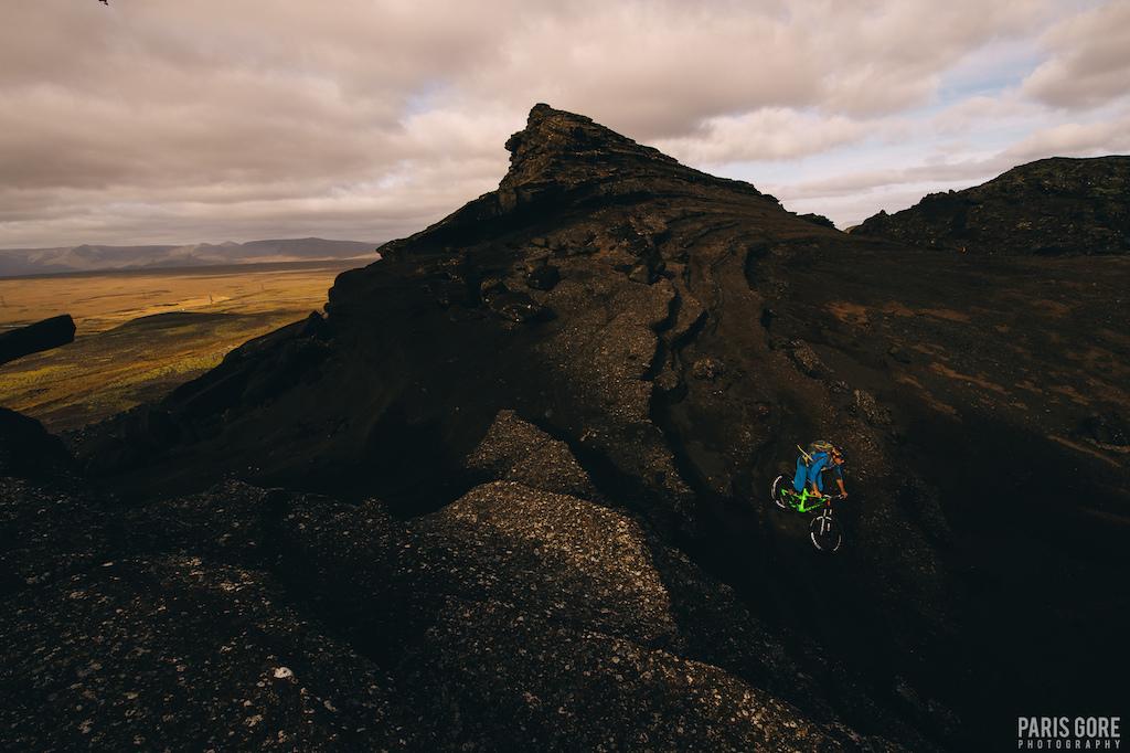 KC Deane in Reykjavik Iceland.