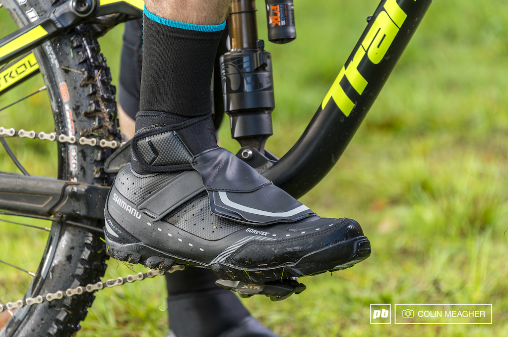Winter shoes are not exactly like your regular old SPD compatible shoes. They are designed for pedaling in comfort in the worst conditions that mother nature can throw at you.