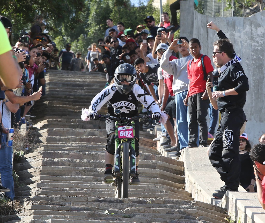 http://marciocarvalho.smugmug.com/ photo from Urban Downhill- so many spectators!