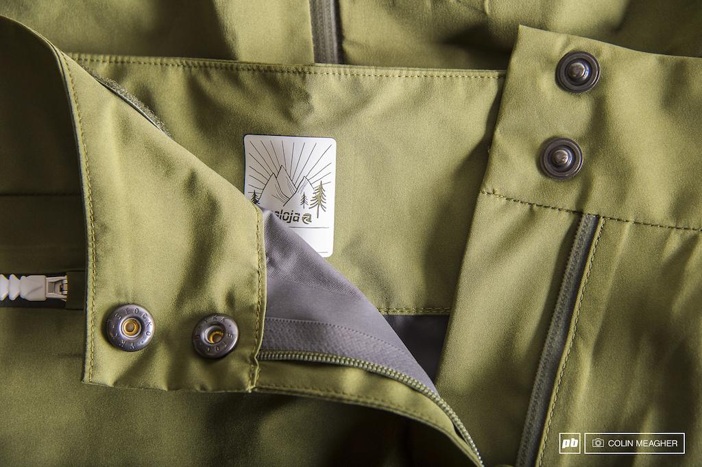 Maloja Clothing details