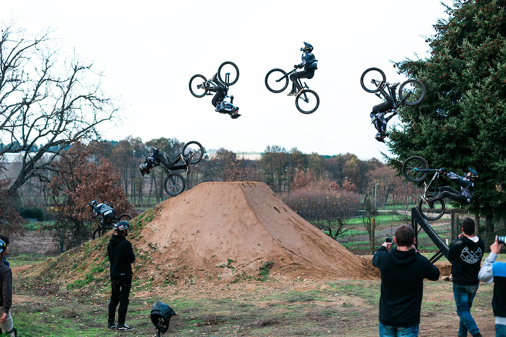 Double backflip sequence