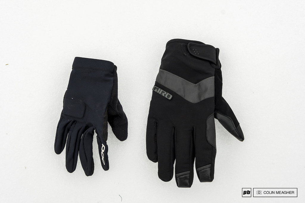 POC and Giro gloves